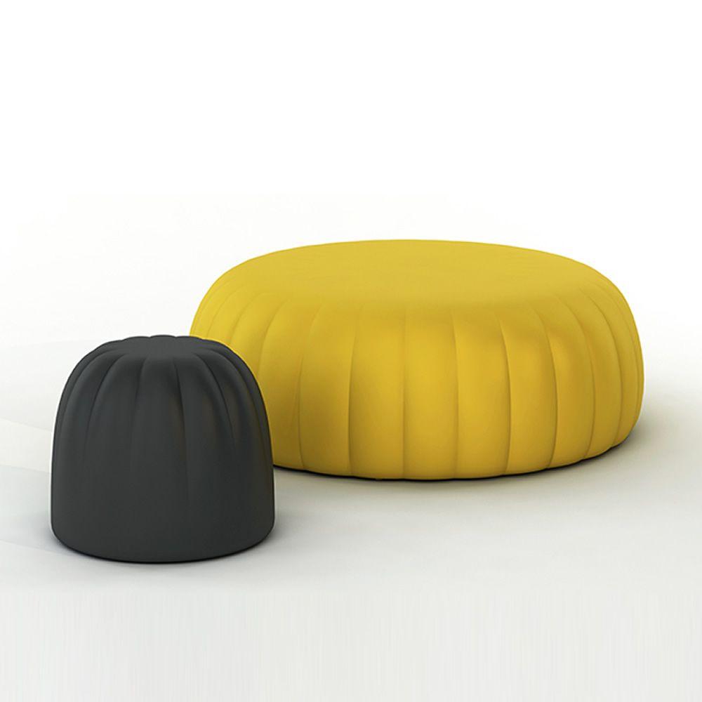 gel e pouf slide aus weichem polyurethan in verschiedenen farben verf gbar auch f r garten. Black Bedroom Furniture Sets. Home Design Ideas