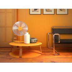 Freeline2 Promo - Tavolo basso rotondo di design in metallo, disponibile in diversi colori