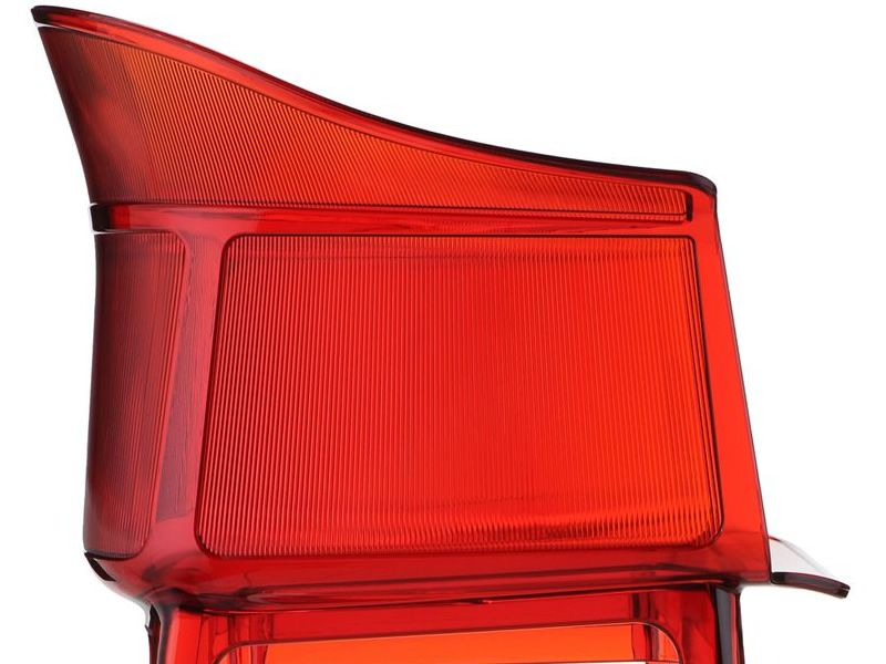 Papyrus kartell design armchair in polycarbonate stackable