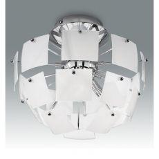 FA2981PS - Deckenlampe aus Metall und Glas, verschiedene verfügbare Größen