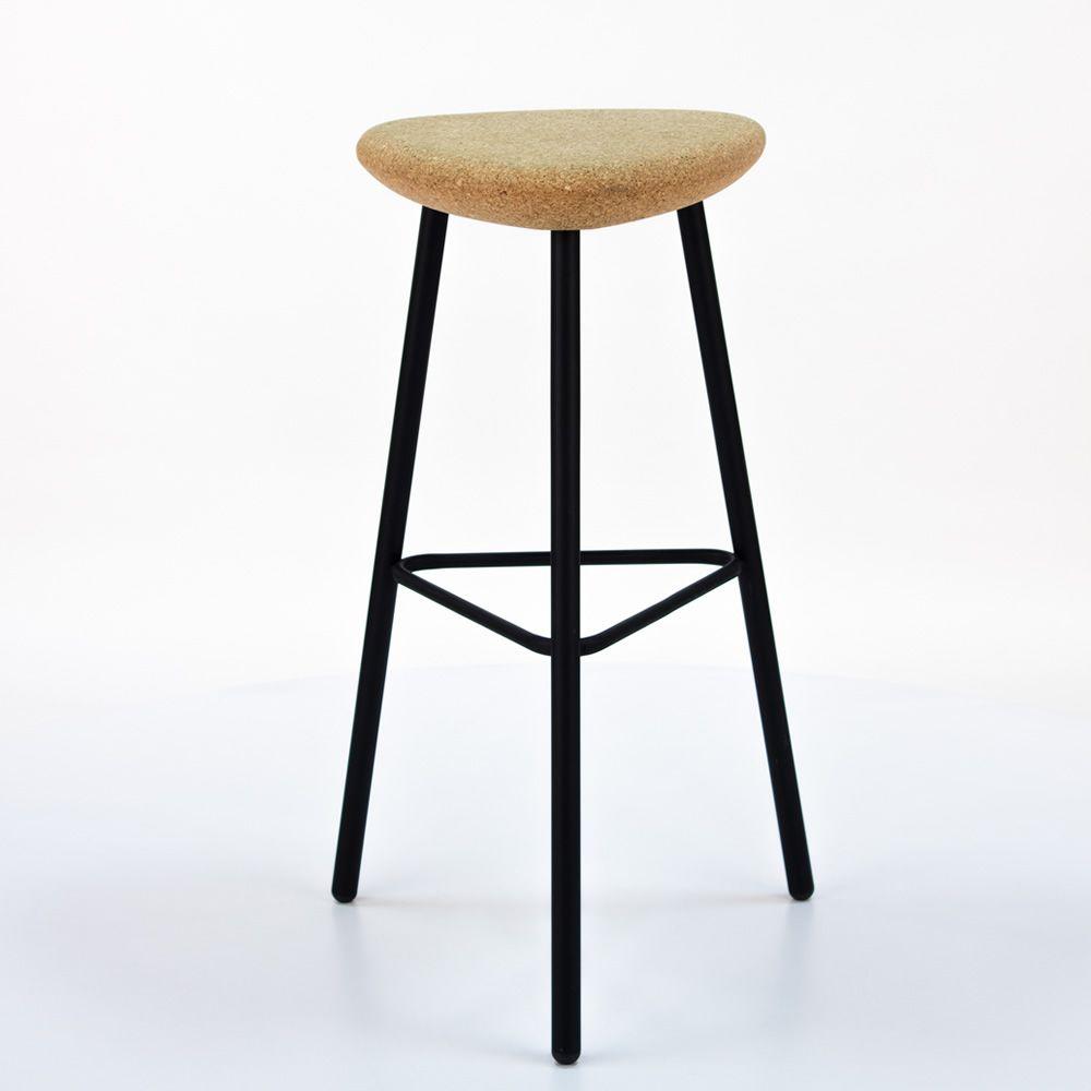Pick: Hocker Domitalia aus Metall, mit Sitz aus Kork oder mit ...