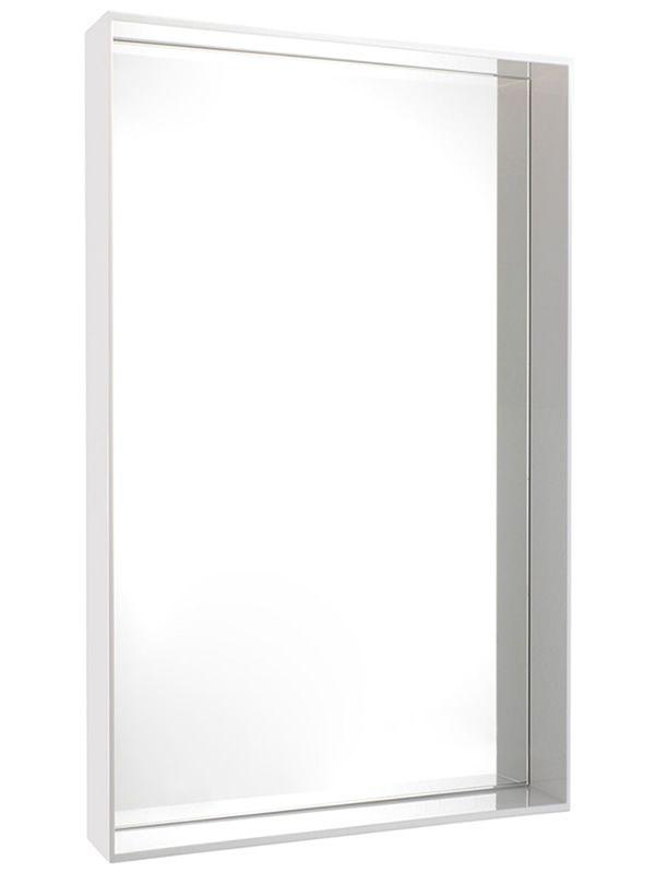 only me l miroir kartell de design avec cadre en polym re 80x180 cm en diff rentes couleurs. Black Bedroom Furniture Sets. Home Design Ideas