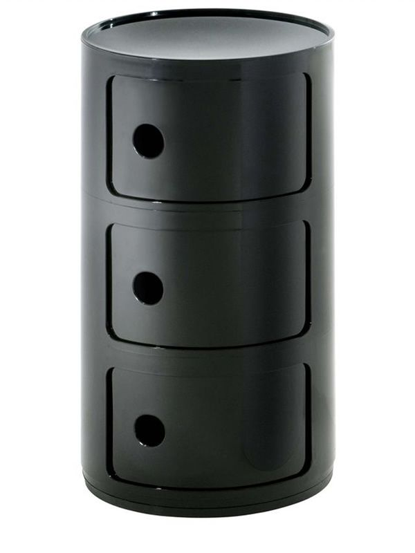 componibili 4967 - contenitore kartell di design, in abs, con tre ... - Mobili Ingresso Kartell