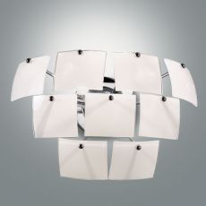 FA2981P - Modern wall lamp made of metal and glass