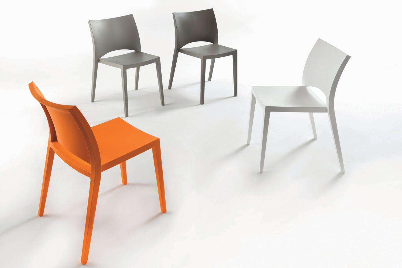 Aqua chaise empilable de bontempi casa en polypropyl ne for Chaise empilable