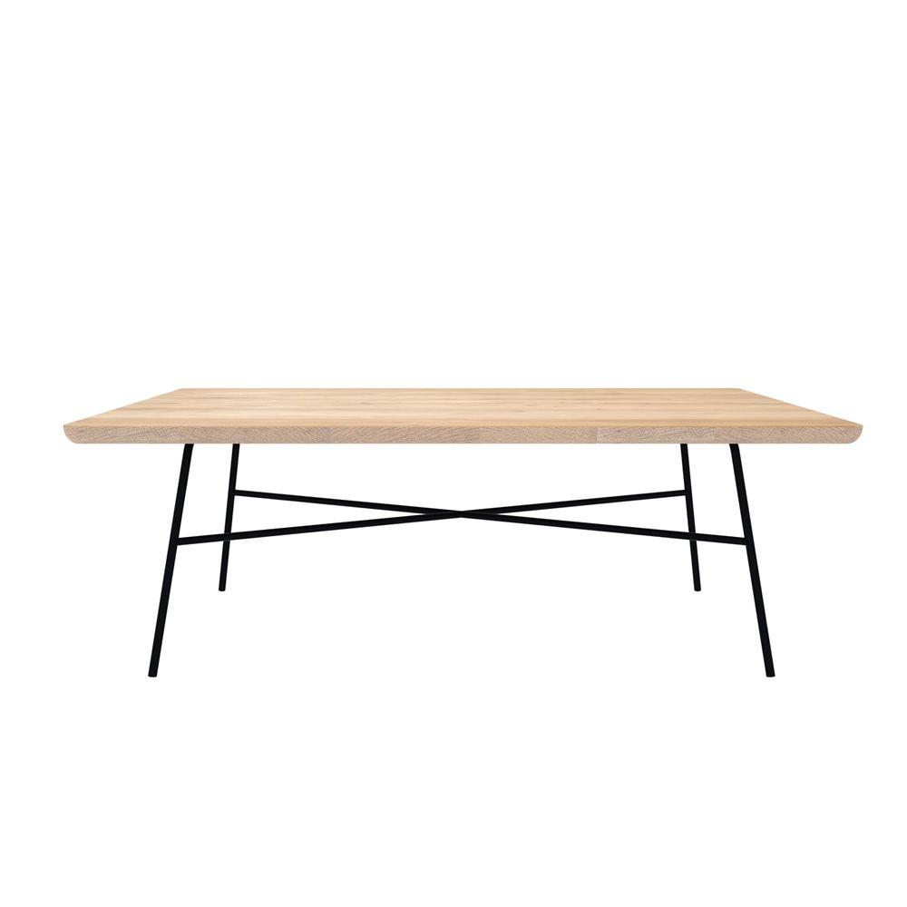 Disc T Table Basse Universo Positivo En M Tal Et Plateau En Bois
