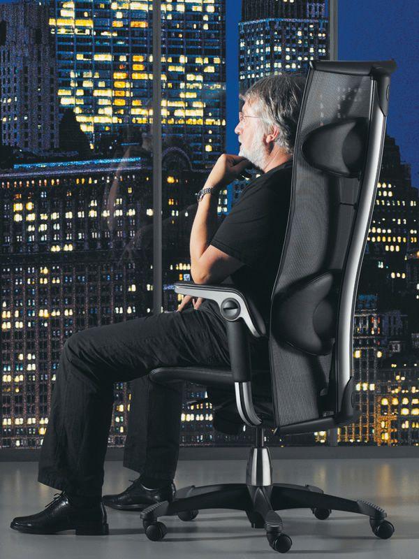 H09 inspiration 2 silla ergon mica de oficina h g con for Cojin lumbar silla oficina