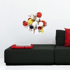 Bau - Lampe à suspension Normann Copenhagen en bois, disponible en différentes couleurs et dimensions