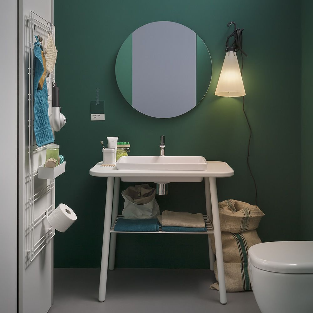 Acqua r specchio rotondo disponibile in diverse misure sediarreda - Misure specchio bagno ...