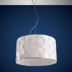FA3136S - Lampada a sospensione in metallo e policarbonato, diverse misure