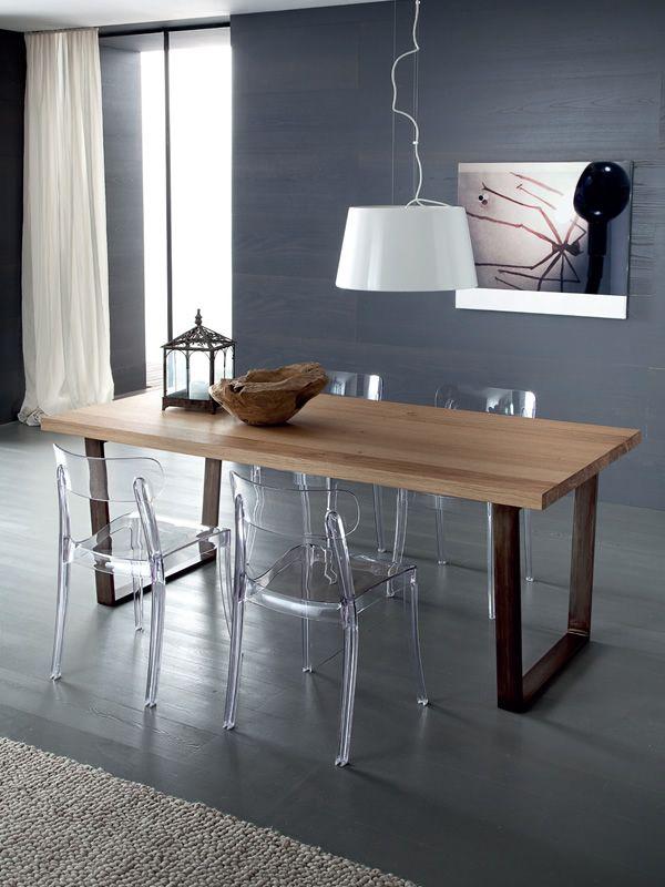 New retr sedia domitalia in policarbonato di vari - Sedie per tavolo fratino ...