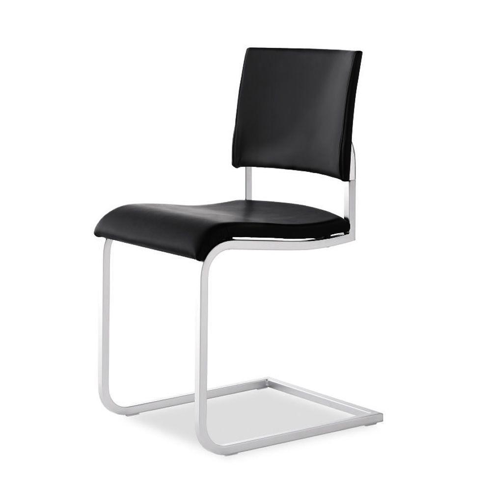 Brunch silla moderna de tonon con estructura tipo trineo for Tapizados de sillas modernas