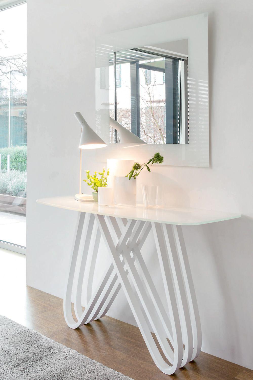 6470 arpa console design tonin pied en bois plateau en verre ou marbre sediarreda. Black Bedroom Furniture Sets. Home Design Ideas