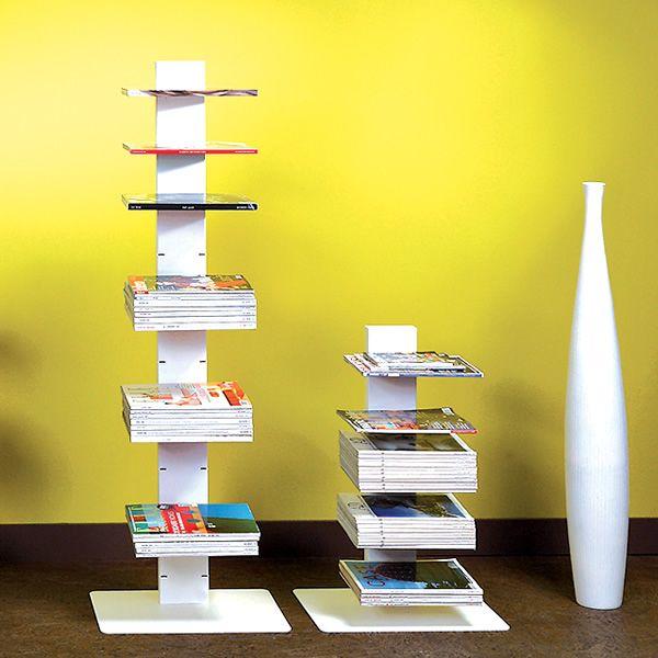 Witty libreria a colonna in metallo diversi colori e for Colonne da giardino