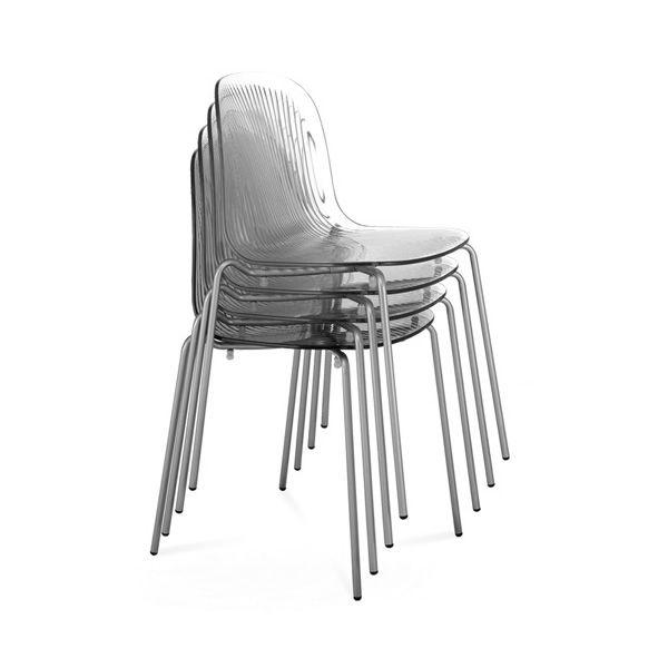 Playa chaise domitalia empilable sediarreda for Chaise domitalia