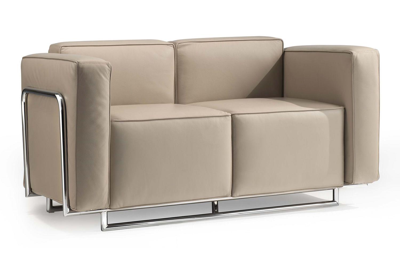 Cocktail 2p divano a 2 posti con struttura in metallo - Accostare due divani diversi ...