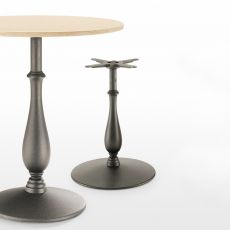 Liberty 4200 - Classical table base in metal for bar or restaurant, available in different dimensions and colours, also for outdoor use