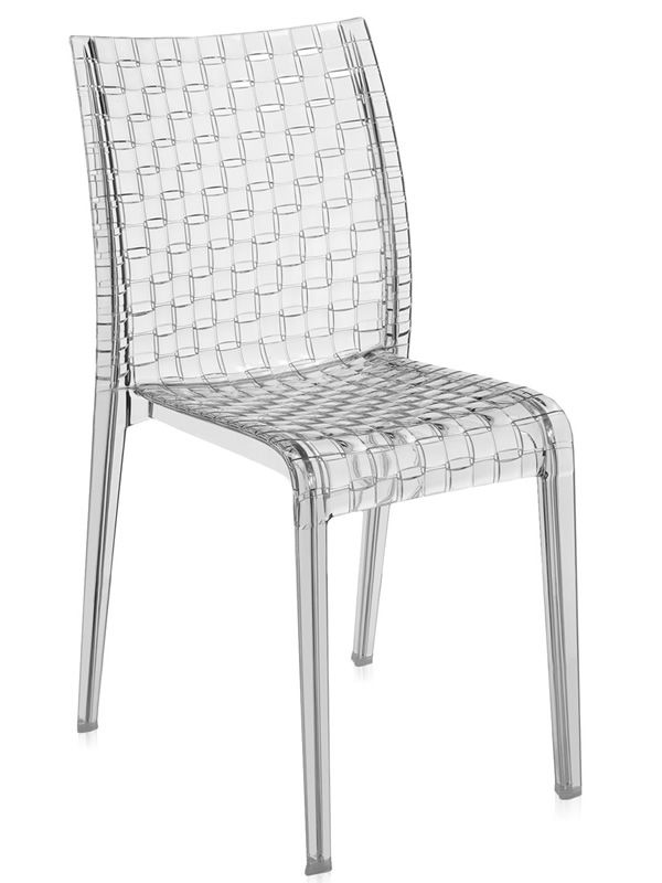 Ami Ami: Kartell design chair, in polycarbonate, stackable, also ...
