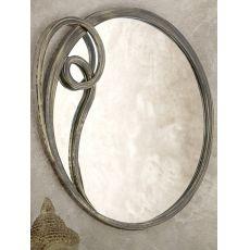 Azzurra specchio - Specchio in ferro disponibile in diversi colori