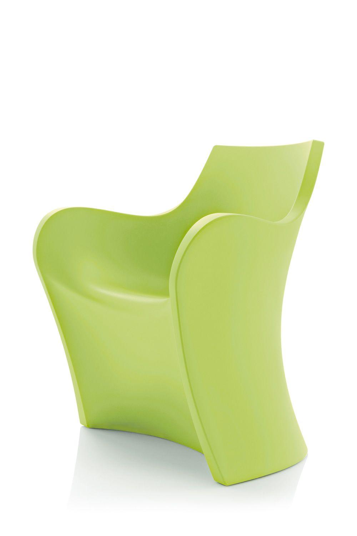 woopy petit fauteuil design b line en poly thyl ne id ale pour l 39 ext rieur sediarreda. Black Bedroom Furniture Sets. Home Design Ideas
