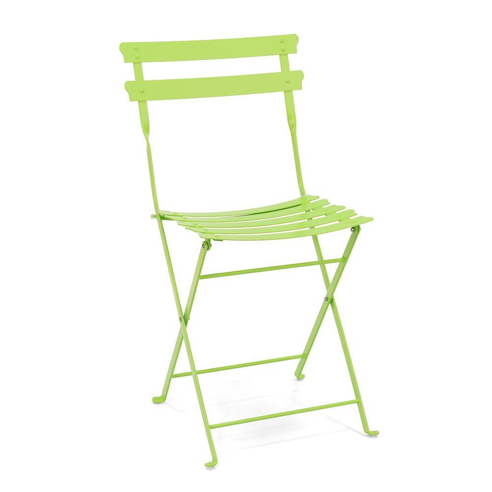 Klappstuhl garten  Pretty: Metall-Klappstuhl für den Garten, verschiedene Farben ...