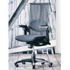 H09 ® Inspiration - Sedia ufficio ergonomica HÅG, con cuscino per il supporto lombare