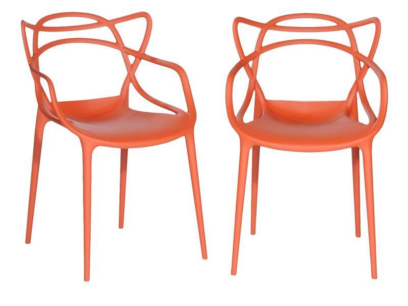 masters per bar e ristoranti poltroncina kartell di design in polipropilene impilabile. Black Bedroom Furniture Sets. Home Design Ideas