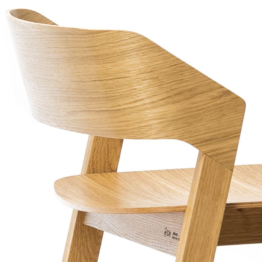 merano stool hocker ton aus holz mit sitz aus holz. Black Bedroom Furniture Sets. Home Design Ideas