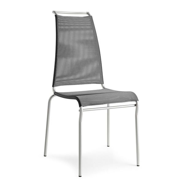 Cb1069 air high sedia impilabile connubia calligaris for Sedia air calligaris