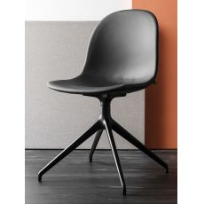 CB1694 360 Academy - Swivel chair, made of aluminium, polypropylene or imitation leather seat, different colours available