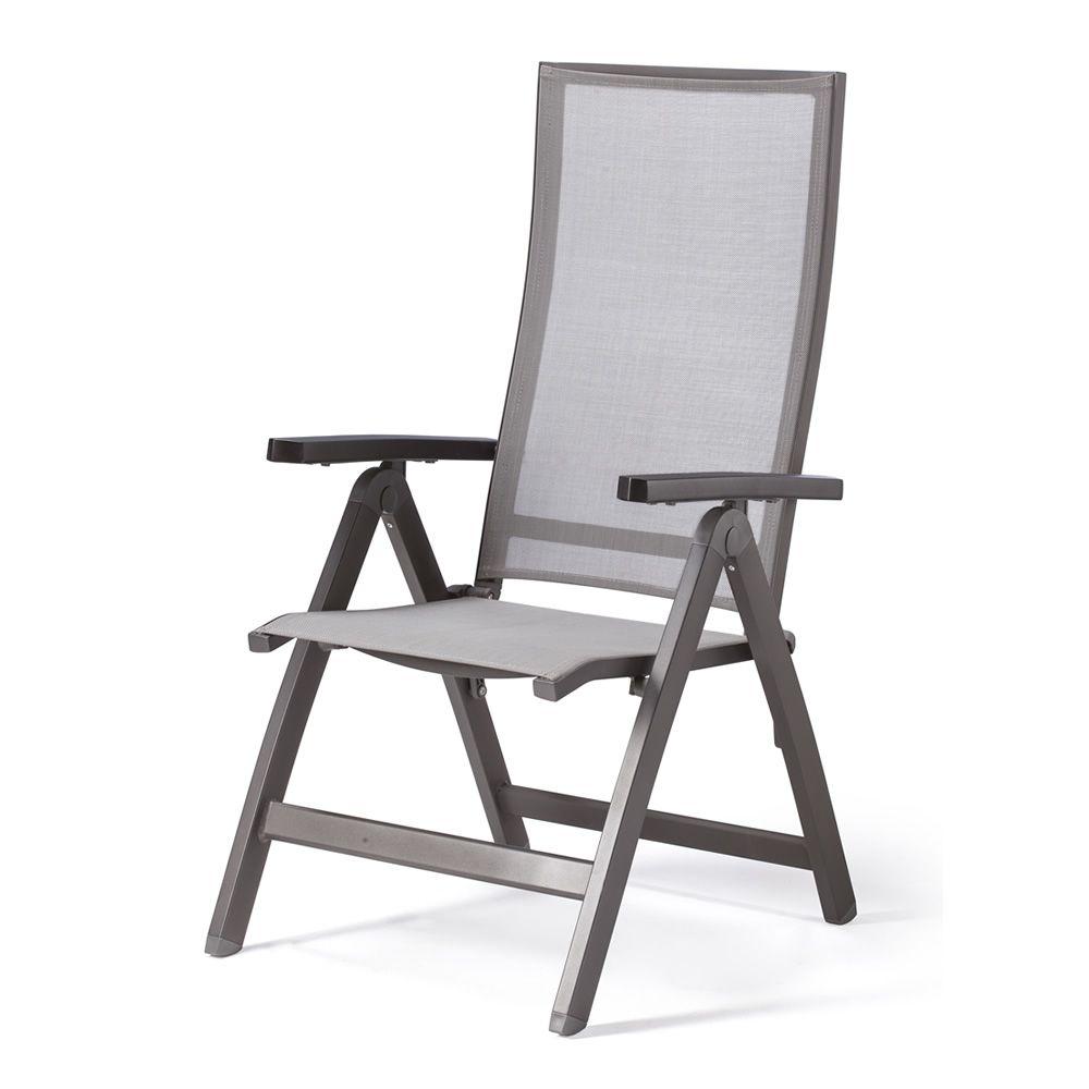 Sedie Da Giardino Reclinabili.Tt942 Sedia Reclinabile In Alluminio E Textilene Per Esterno