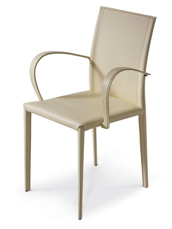 Prix p chaise midj en cuir avec accoudoirs en for Chaise bas prix