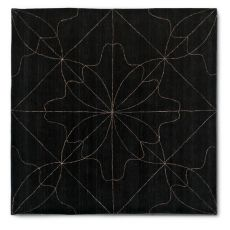 7131 Delight - Tappeto quadrato Calligaris in lana e lino, 240 x 240 cm
