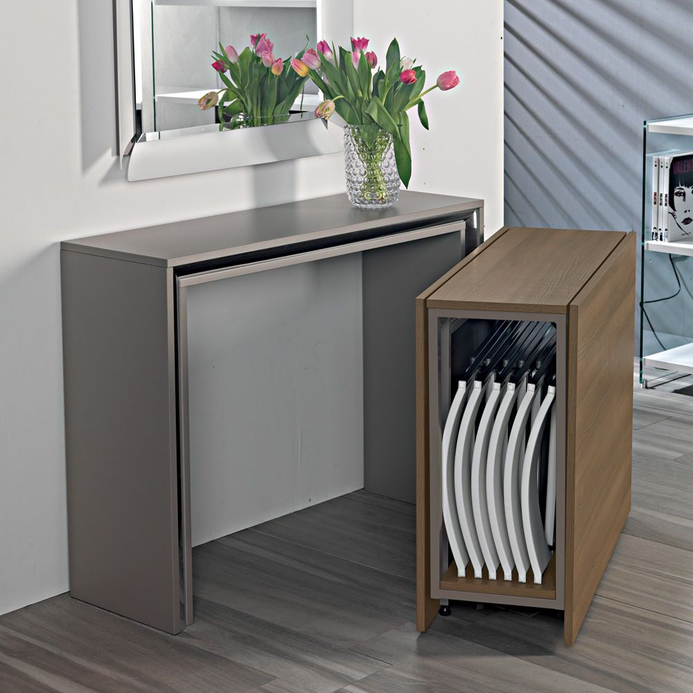 Archimede C Console With Folding Table 170 X 90 Cm