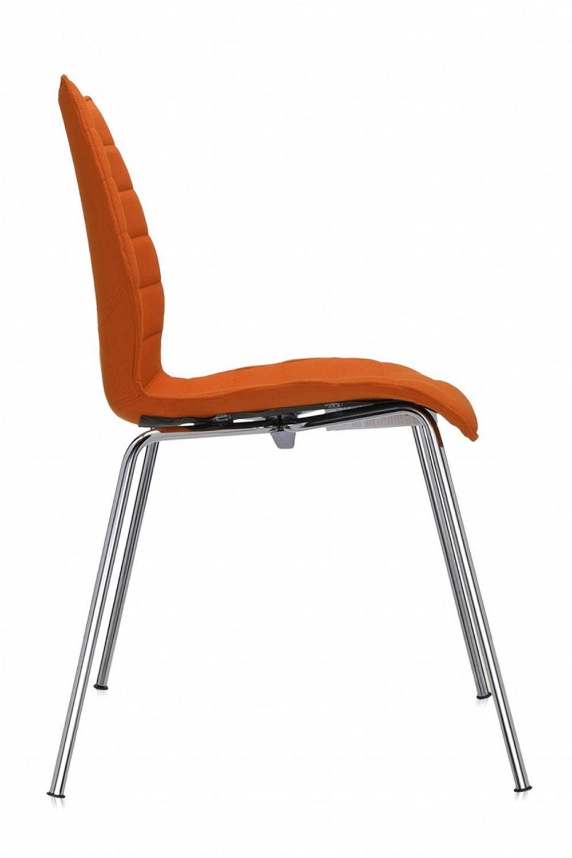 Maui soft sedia kartell di design in metallo con seduta for Sedia di design