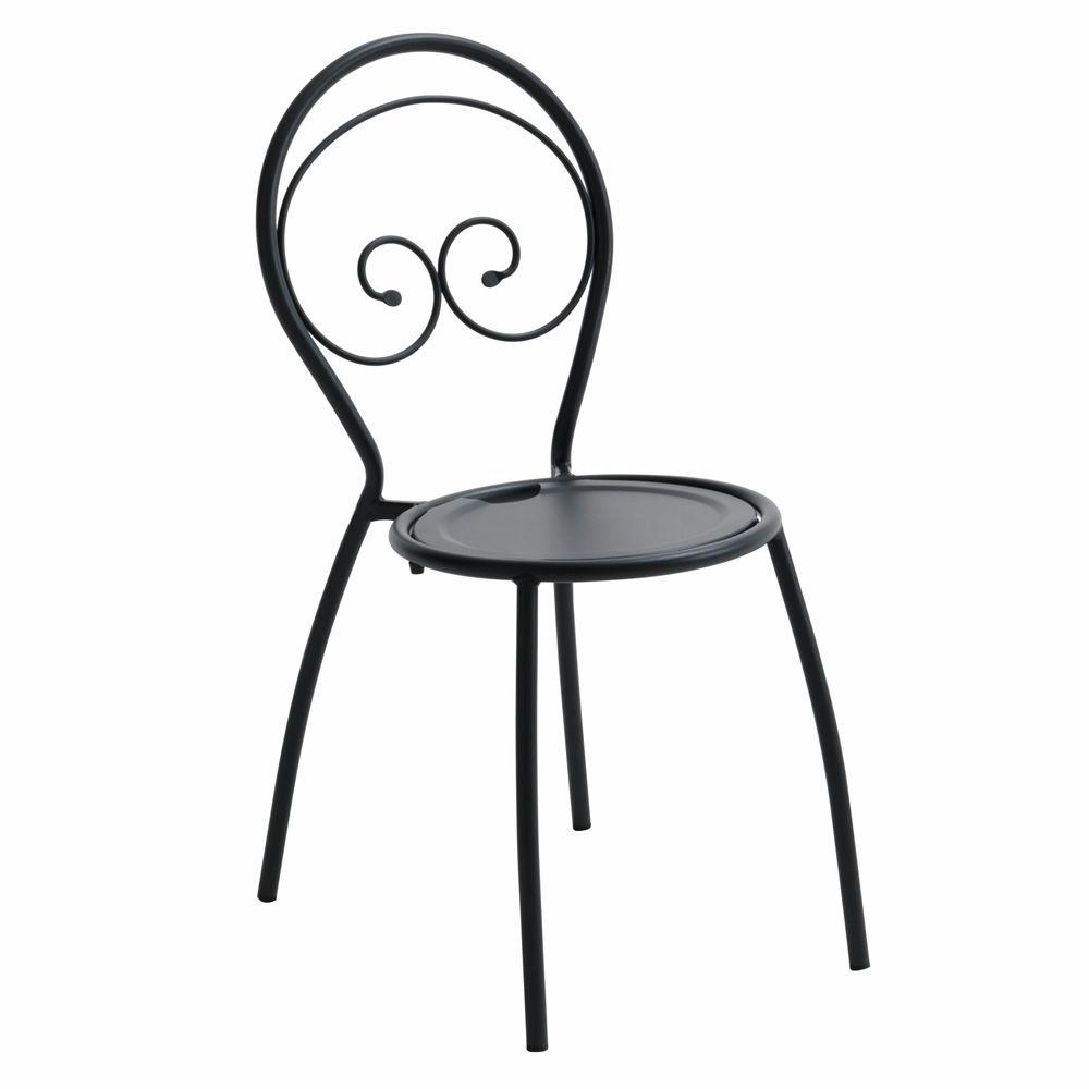 Rig43 silla m talica apilable en distintos acabados - Silla metalica apilable ...
