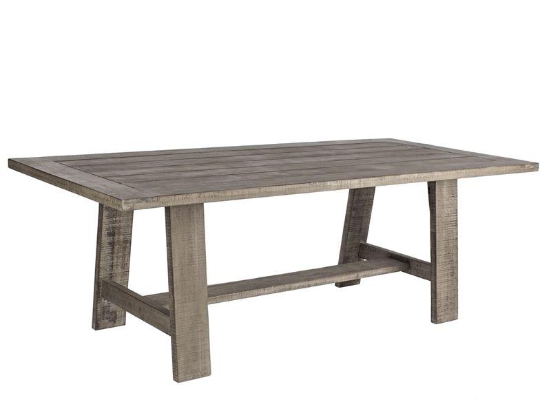 Maggiore tavolo in acacia fsc piano rettangolare for Tavolo acacia calligaris