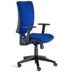 Five - Sedia operativa per ufficio, certificata, con schienale e seduta imbottiti, con o senza braccioli regolabili, diverse finiture disponibili