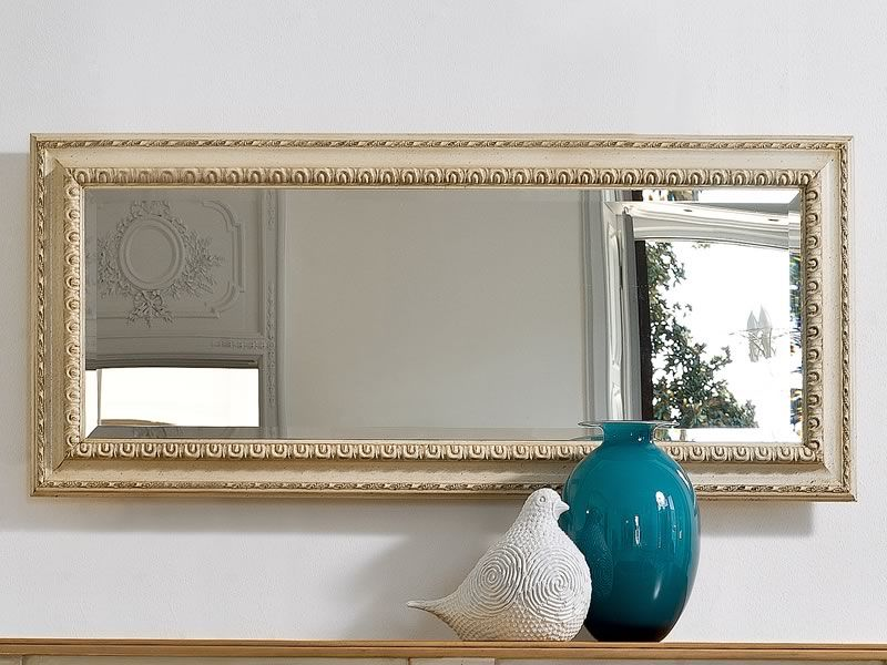 Altair 4961 espejo rectangular tonin casa con marco for Espejo rectangular con marco de madera