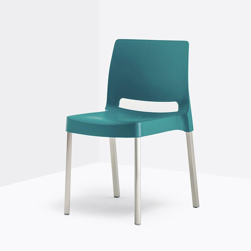 Joi 870 sedia pedrali in alluminio e polipropilene - Sedia per cucina ...