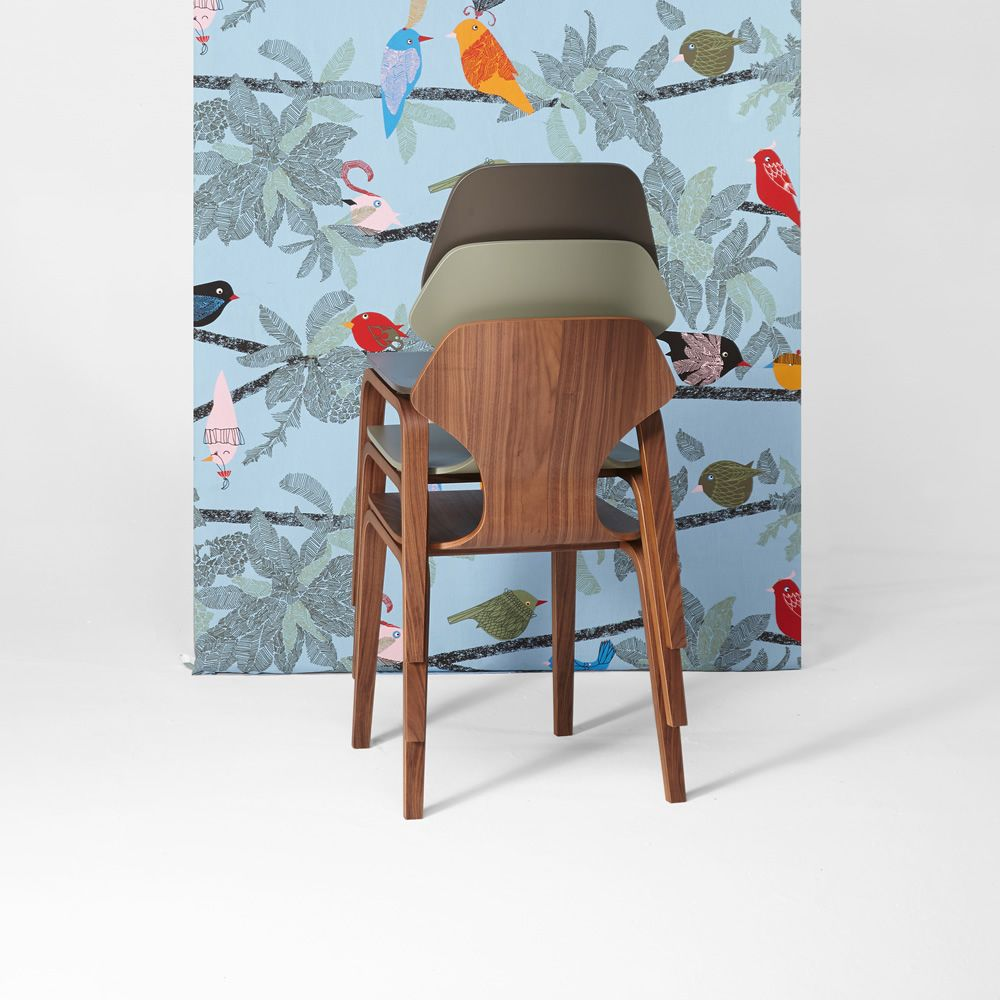 Ginger Chaise design en bois de ch234ne multiplis  : ginger ginger et fred chaises en bois empilees from www.sediarreda.com size 1000 x 1000 jpeg 101kB