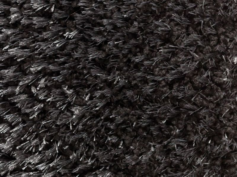 fly detail of the carpet in black colour - Tapis Color Fly