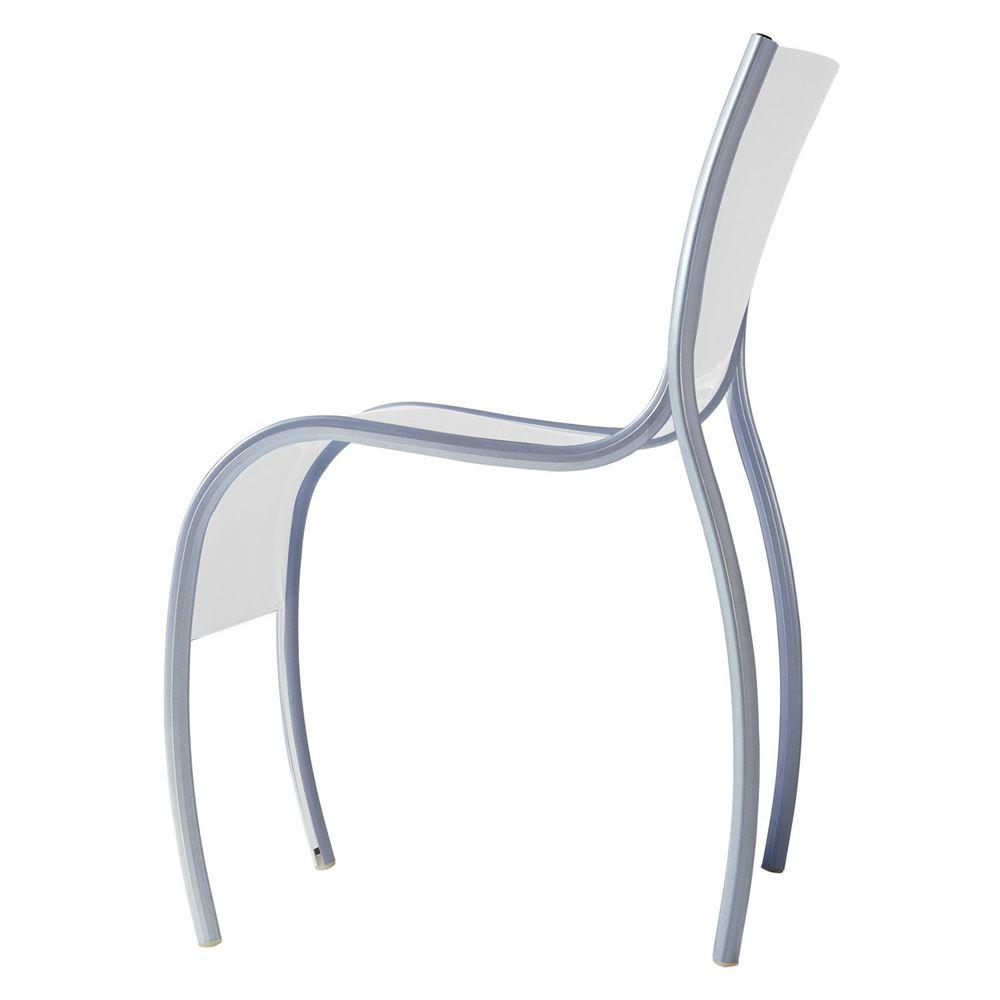 Fpe sedia kartell di design impilabile in alluminio e for Sedia design kartell