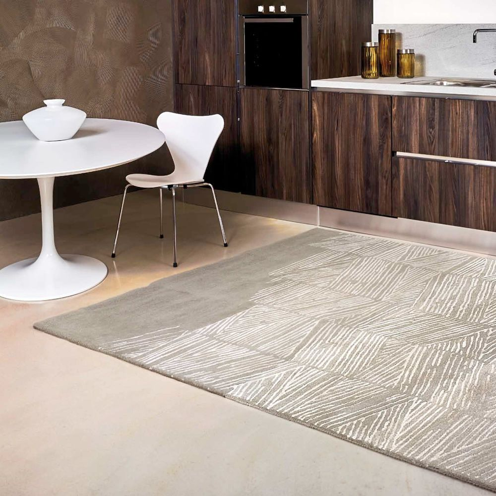 Rome tapis design en laine et soie v g tale en for Tapis italien design