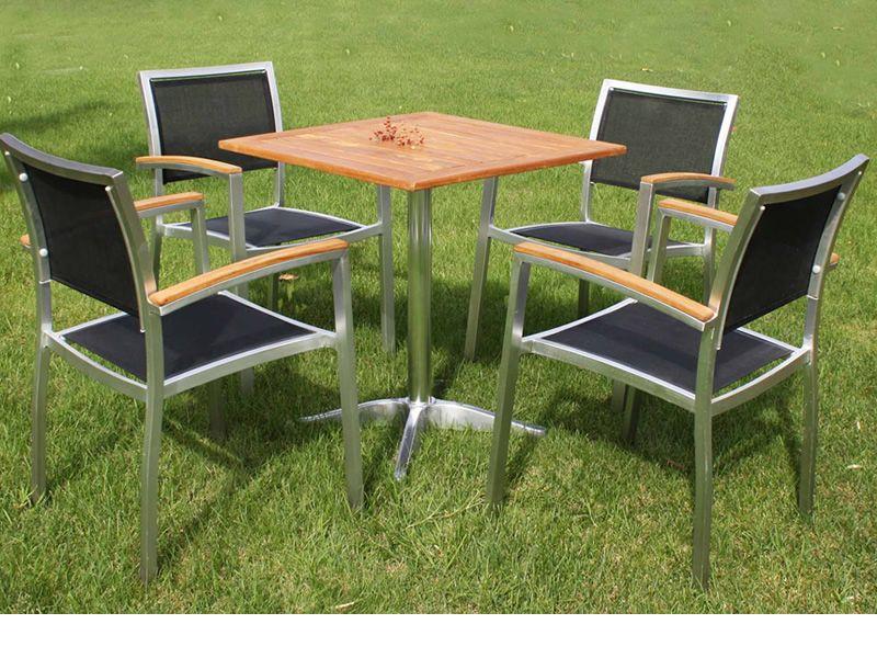 Piani teak pour bars et restaurants plateau de table en - Plateau bois pour table exterieur ...
