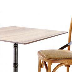 Piani HPL - Piano tavolo in stratificato HPL per bar e ristoranti, spessore 10 mm, diversi colori e misure disponibili, anche per esterno