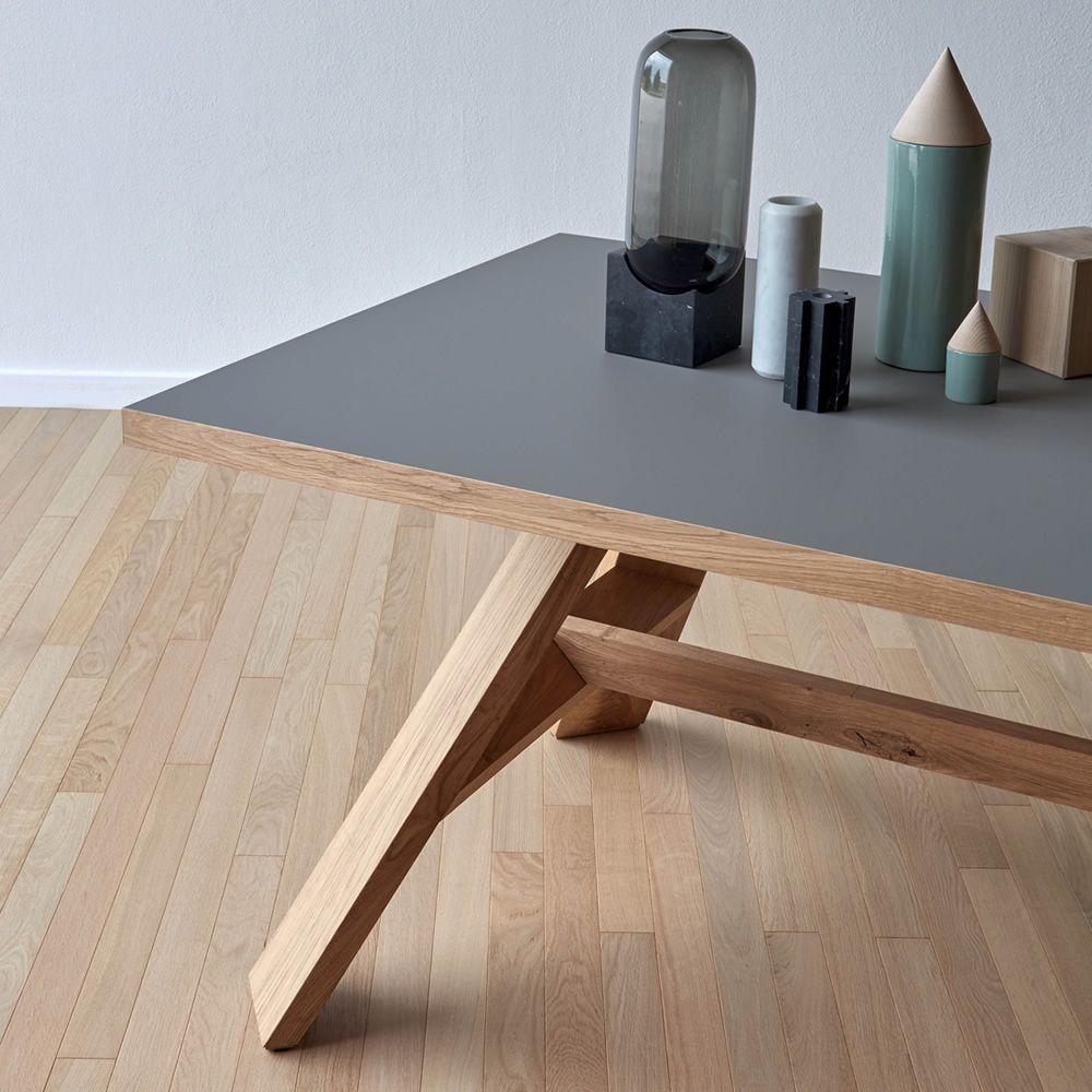artigiano rechteckiger tisch miniforms aus holz in verschiedenen gr en und ausf hrungen. Black Bedroom Furniture Sets. Home Design Ideas