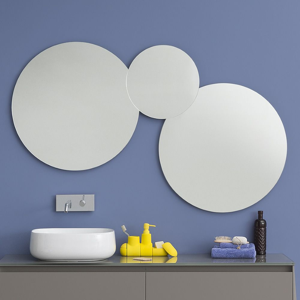 Acqua C | Composizione di specchi rotondi