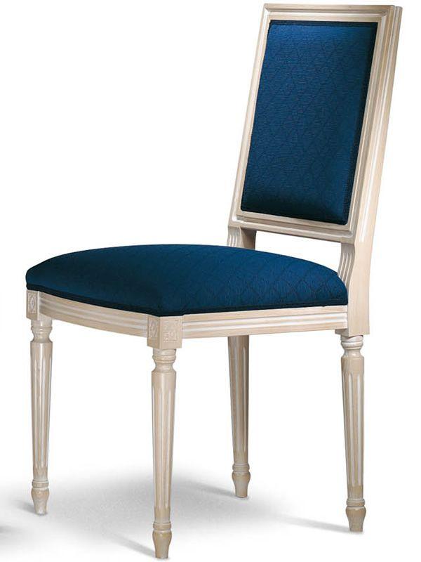 vst122 klassischer gepolsterter holzstuhl verschiedene farben und bez ge sediarreda. Black Bedroom Furniture Sets. Home Design Ideas
