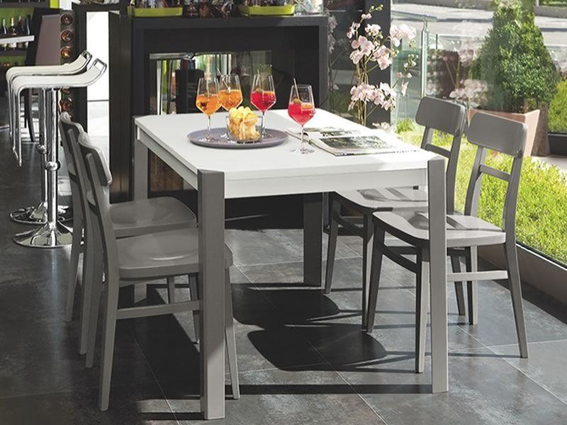 Cb1284 milano: silla connubia   calligaris de madera con asiento ...